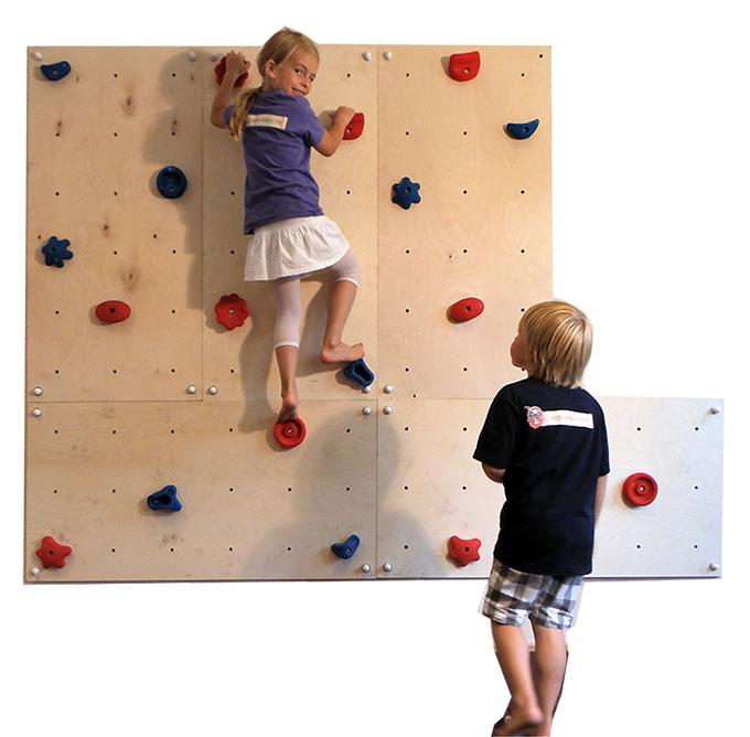 Indoor-Kletterwand als Weihnachtsgeschenk für das Kinderzimmer