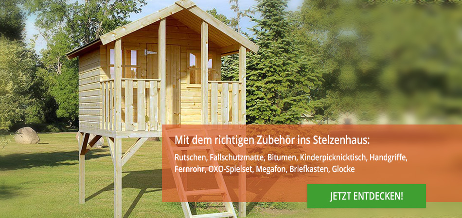 stelzenh user aus holz f r den garten kaufen. Black Bedroom Furniture Sets. Home Design Ideas